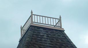 Rampe décorative de toit & de muret